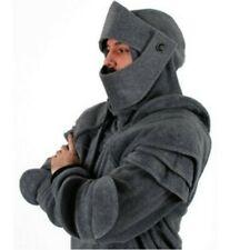Men Hoodie Knight Sweater Hooded Coat Long Sleeve Halloween Cosplay Fashion SPW