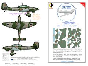 TopNotch Stuka JU-87 camouflage scheme vinyl mask set