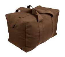 Rothco Brown Canvas Parachute Cargo Bag 3523