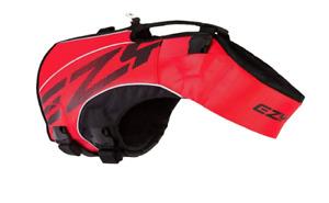 EzyDog - X2 BOOST - Dog Life Jacket - RED