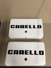 Carello Rectangular Lamp Covers # 02.312.519 - Pair