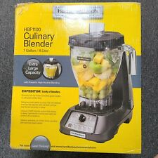 Hamilton Beach Commercial Culinary Blender 1 Gallon High Volume Blending Hbf1100