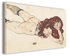 Quadro moderno Egon Schiele vol I stampa su tela canvas pittori famosi