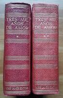 1956-1957 Tres Mil Años De Amor, Colección Orfeo, Janés Editor Primera Edicion