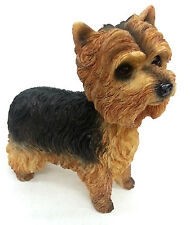 Yorkshire Terrier Dog Ornament Figurine Statue New Boxed