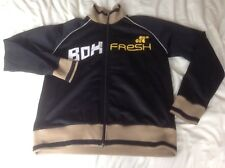 Adult Mens Genuine Boxfresh Zipped Jumper Tracksuit Top Track Size Large Vgc