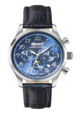Relojes de pulsera Ingersoll Rand de cuero de día y fecha