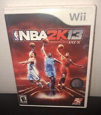 NBA 2K13 (Nintendo Wii, 2012)  VGC