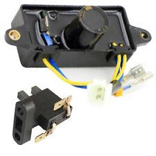 Honda Square AVR & Carbon Brush for EP2200CX EP2500C Generator Voltage Regulator