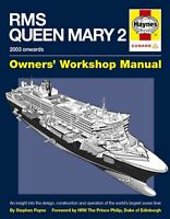 RMS Queen Mary 2 Owner Manual by Haynes (Hardcover)
