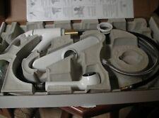 Coralais Single-Control Pullout Spray Kitchen Sink Faucet White kohler