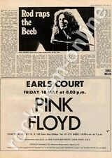 Pink Floyd Earls Court Friday 18 May MM3 concert advert 1973