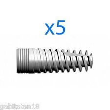 Dental Implant 5 x T-Shark Narrow Spiral Implants SPI type internal hex system