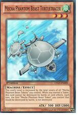 YU-GI-OH: MECHA PHANTOM BEAST TURTLETRACER - SUPER RARE -LTGY-EN000 -1st EDITION