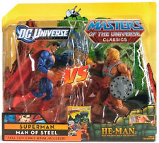 "DCU vs. MOTUC_SUPERMAN vs HE-MAN 6"" figures_Exclusive Limited Edition_2-Pack_MIP"