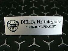 Emblem/Badge Plakette Innenraum Lancia Delta Integrale Evo Edizione Finale