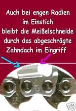 """Carving mit Kettensäge Sägekette 1/4"""" 56 Trgl. 1,3 Nut bearb. Zahndach für Stihl"""
