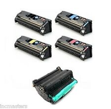 HP #121A Four Toner + DRUM  for HP Color Laserjet 2550 2820 2840 2500