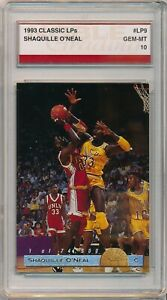 1993 Classic LPs Shaquille O'Neal # LP9 Noble Grading Gem Mint 10 LSU Tigers