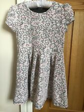 Girls Age 5-6 Floral Dress From George