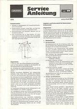Grundig Service Anleitung Manual sono-clock 350a   B1109
