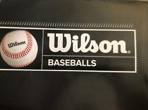 Wilson Baseballs A1020 - 3 Dozen (3 Boxes)