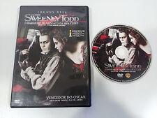 SWEENEY TODD DVD + EXTRAS JOHNNY DEPP TIM BURTON ESPAÑOL ENGLISH PORTUGUES REG 4