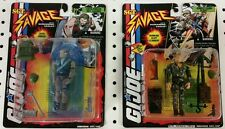 SGT SAVAGE LOT - Cryo-freeze SGT Savage, Jungle Camo D-Day - JOE KUBERT - GI JOE