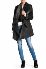 Faux Fur Polyester Dry-clean Only Coats & Jackets for Women