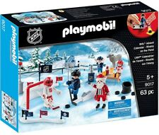 Playmobil NHL Hockey Advent Calendar Rivalry on the Pond Set #9017