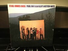 PAUL BUTTERFIELD - It All Comes Back ~ BEARSVILLE 2170 {nm orig} w/Maria Muldaur