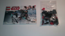 Lego Star Wars First Order Specialists Battle Pack 75197 No Mini Figures