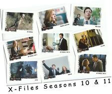The X-Files Seasons 10 & 11 - 96 Card Basic/Base Set & P1 Promo Card - 2018