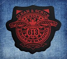 The Tragically Hip | Unofficial | Clean & Scrub Union | Iron-on Patch