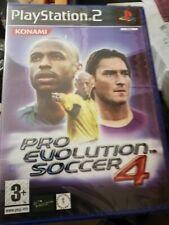 Pro Evolution Soccer 4 (PES ) 2004 NUOVO  ITALIANO  PS2