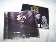 Java - Change Of Heart CD 2017 Numbered edition - late 1980's Female Vocals rock