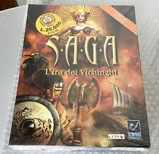 VINTAGE# RARE PC CD WIN 95/98 Saga : Rage of the Vikings L'IRA DEI VICHINGHI#