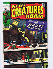 Where Creatures Roam #1  Marvel 1970