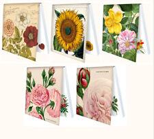 Stickys*Haftnotizen*Haftnotizenblock*Historische*Blumen*Rosen*Sonnenblume*7x7cm*