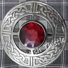 Cc Dragon Gallois Broche Kilt 10.2cm Chrome//Broche Pins Emblème