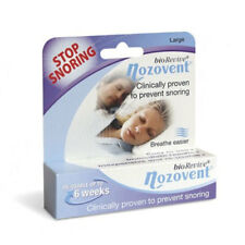 * BIOREVIVE NOZOVENT LARGE SIZE DEVICE CLINICALLY PROVEN TO PREVENT SNORING