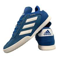 Adidas Copa Boys Girls Shoes Size Uk 5 Junior Blue Sports Suede Trainers EUR 38