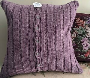 """Ralph Lauren """"Brittany"""" Throw Pillow 20 X 20in. 100% Wool  - $215 Perfect!"""