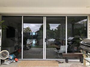 Large glass sliding doors - Bradnams