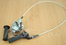 Handlebar Hand Grips Throttle Cable Carburetor For Honda XR100 XR100R CRF100F