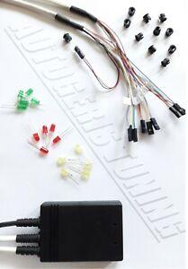 DIY Sequential Car Adjustable LED Tachometer Shift Light Gauge A-10 Professional