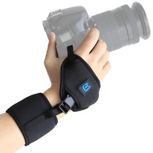 Comfy Leather Wrist Hand Grip Strap Belt Universal For DSLR+SLR Canon Nikon Sony