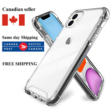 TRANSPARENT BUMPER CLEAR CASE for iPhone X XS XS MAX XR 11 11 Pro Max COVER