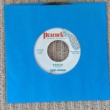 "45 RPM - ""GONZO"" James Booker + ""COOL TURKEY""   VG+ 7 inch vinyl"