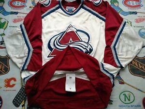 Rare Pro 52 Vintage First Season 1996 Starter NHL Colorado Avalanche Jersey